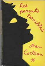 LES PARENTS TERRIBLES . JEAN COCTEAU . Poche 1967 .