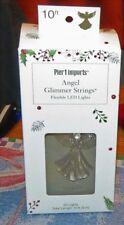 PIER 1 IMPORTS CHRISTMAS ANGEL GLIMMER STRINGS  FLEXIBLE LED LIGHTS 10 FT