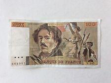 Billet français 100 F Delacroix  1989 V145 Voir Photo