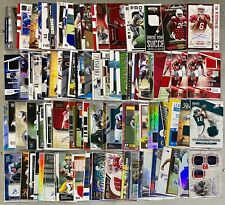 NFL Football Numbered Jersey Patch Auto Rookie You Pick The Card You Want! TI