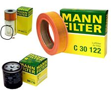 Mann Oil Air Fuel Filter Service Kit for Mercedes W123 240D 300CD 300D 300TD