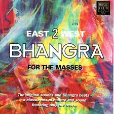 Bhangra for the Masses - East 2 West - 15 track CD Compilation  (1993)