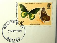 "1979 Belize 4 C Stamp Cancelled 7 MAY 1979 ""Mint Condition""  SB6234"