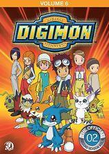 Digimon Adventure: Volume 6 Complete Anime Box / DVD Set NEW!