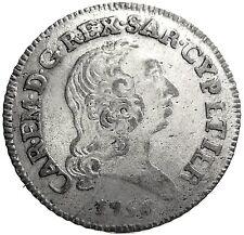 SAVOIA (Carlo Emanuele III) 7,6 Soldi 1756