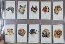 John Player & Sons Dogs 1929 Cigarette Cards complete set of 50
