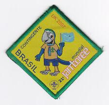 2007 World Scout Jamboree BRAZIL / BRASIL SCOUTS Contingent Patch