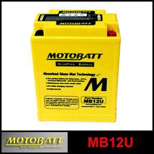 BATERÍA [MOTOBATT] MB12U = YB12AB / YB12ALA2 (12 V 15 SELLADO EN HABILITADO