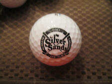 LOGO GOLF BALL-SILVER SANDS GOLF RESORT.......ALBERTA, CANADA....