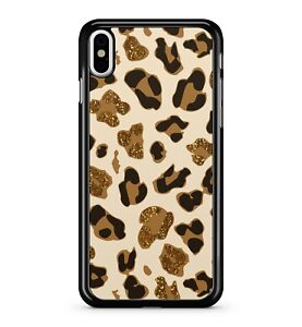 Brown Leopard Hand Print Pattern Cat Species Amazing Texture 2D Phone Case Cover