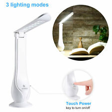 LED Desk Lamp, Touch Control Eye-caring Table Lamps with USB Charging Port 2020