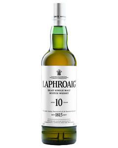 Laphroaig 10 Year Old Scotch Whisky 700mL Islay bottle
