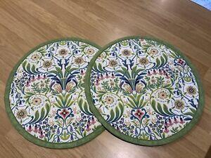 Aga/hob Covers Cream Molly Floral Fabric