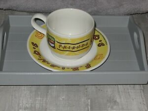 Vintage Friends Cup And saucer Set From 2000 not in packaging never been used