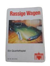 Quartett - Rassige Wagen / Berliner Spielkarten Nr. 6314764