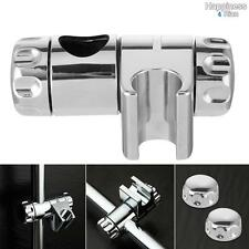 Adjustable Bath Shower Rail Head Bracket Slider Shower Head Slide Clamp Holder