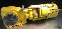 FLENDER Himmel Brake MOTOR AND GEAR REDUCER 3 Ph 220/380V 1640 RPM 2.5 HP