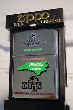 2001 Zippo OTLS Convention Lighter.