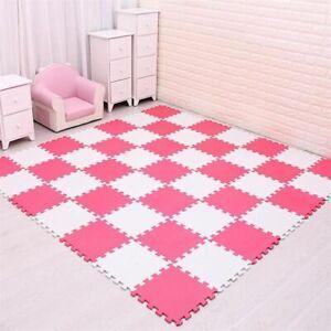 Eva Foam Puzzle Play Mat Interlocking Exercise Floor Tiles Kids Rugs Toys Carpet