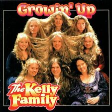 (CD) The Kelly Family - Growin' Up - Because It's Love, One More Song (1997)