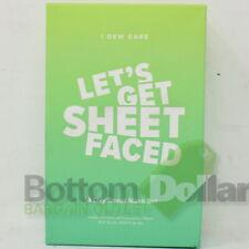 I Dew Care Lets Get Sheet Faced 14 Day Sheet Mask Set 14 x 20 ML Exp: 11/19/19