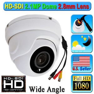 LEXA HD SDI SONY STARVIS 2.1MP 1080P CCTV Security Camera 2.8mm FHD Night Color