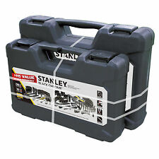 Stanley 226-Piece + 70-Piece Mechanic Tool Set Box Kit Home Car Repair Hand Tool