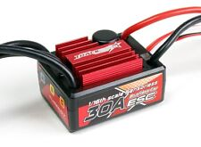 TRACKSTAR 30A 1/16 1/18 WATERPROOF BRUSHLESS ESC 2-3S TRAXXAS LOSI REDCAT EXCEED