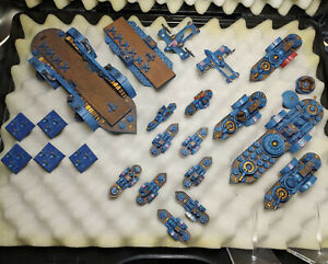 Dystopian Wars FSA Fleet (Federated States of America) - Painted - Spartan Games