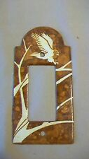 Hand Painted Metal Eagle Light Switch Plate from Aspen Creek Designs