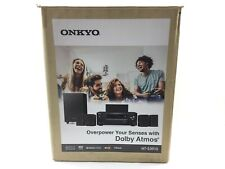 *READ* Onkyo HT S3910 5.1-Ch. Hi-Res 3D Home Theater Speaker System NO RECEIVER