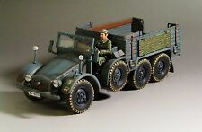 1/30 WW2 German Krupp Protze truck Kfz 70 G010 blue-grey version without top