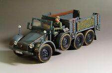 1/30 WW2 German Krupp Protze truck Kfz 70 G010 blue-grey version without top