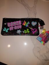 NWT JoJo Siwa Dance It Out Glitter Pencil Bag Classic JoJo Bow WOW! VHTF L@@K!!