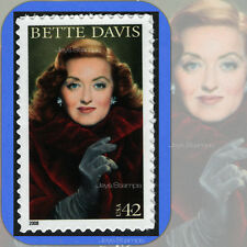 2008  BETTE DAVIS 14th Legends of Hollywood  MINT Single 42¢ Stamp  Cat # 4350