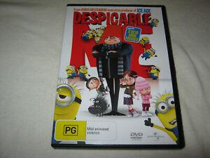 Despicable Me - Includes Mini Movies - VGC - DVD - R4