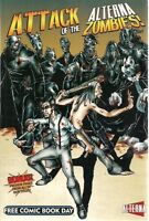 ATTACK OF THE ALTERNA ZOMBIES (2009) Alterna preview TPB FINE