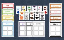 Colour - Matching Game - Autism / Speech and Language / SEN / EYFS / KS1 / KS2