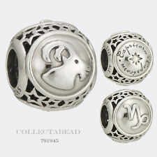 Authentic Pandora Sterling Silver Zodiac Capricorn Star Sign Charm Bead 791945