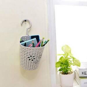 1PC Wall Storage Hanging Shower Basket Bathroom Caddy Basket Organizer Racks