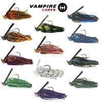 Fishing Bass Arky Jig Mustad Gamakatsu Weedless Multiple Weights and Colors