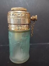 Lalique 'Figurines Et Guirlandes' frosted glass perfume atomiser