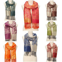 Women Pashmina Scarf Girls Winter Long Scarves Casual Scarf Acrylic Shawl Wrap