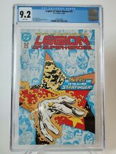 LEGION OF SUPER-HEROES #29 CGC 9.2 GRADED DC 1986 1ST APPEARANCE OF STARFINGER