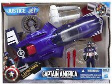 Marvel Leyendas Avenger vehículo Capitán América justicia Jet Con Figura vendedor Reino Unido