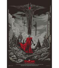 Thor: The Dark World     MONDO PRINT    Avengers    SOLD OUT   Ken Taylor   2013