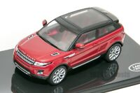 Land Rover Evoque in Red, official Land Rover dealer model, IXO 1:43 scale gift