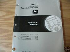 John Deere 792D LC Excavator O & T Tech manual 1995