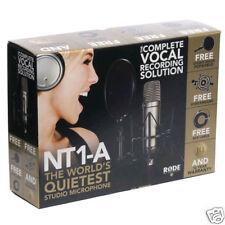Rode NT1-A Pack Complete Vocal Recording Solution  - Official Rode Dealer