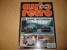 Auto rétro N°101 911 Turbo.Citroën 2CV.Jaguar Mk II 3.8